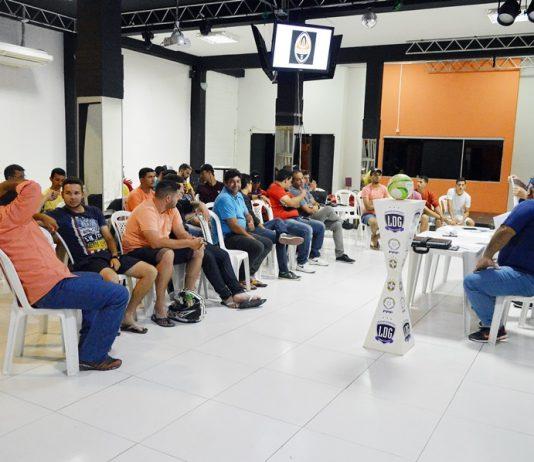 1º Encontro da LDG com participantes da 10ª Copa Gravatá de Futsal. Fotos: Gilvan Silva/EsportePE