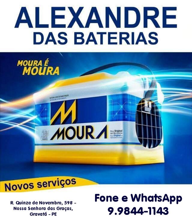 Alexandre das Baterias