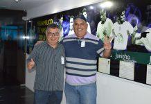 Luciano e Eduardo Araújo. Foto: Gilvan Silva